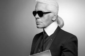 Karl Lagerfeld - Portrait