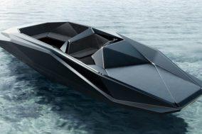 Zaha Hadid - Z-Boat Design 1