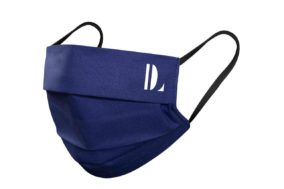 DESIGNLOVR - Mund-Nasen-Schutz - Navy Blau